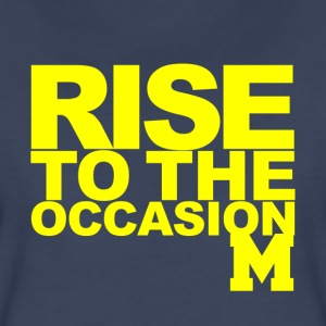 Michigan Rise to the Occasion Shirt Women's T-Shirts - Women's Premium T-Shirt