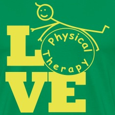 LOVE physical therapy  T-Shirts