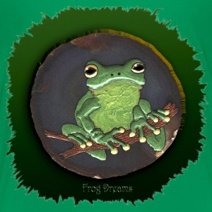 Frog Dreams Green Tree Frog - Kids' Premium T-Shirt
