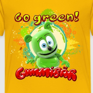 Gummibär Go Green Earth Day Kid's T-Shirt - Kids' Premium T-Shirt