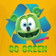 Design ~ Gummibär Recycle Earth Day Kid's T-Shirt