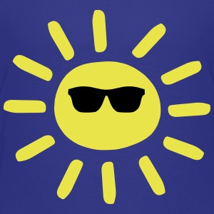 Sun Wearing Shades Kids' Shirts - Kids' Premium T-Shirt