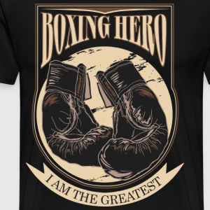 Boxing Hero - i am the greatest T-Shirts - Men's Premium T-Shirt