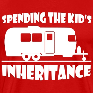 spending_the_kids_inheritance T-Shirts - Men's Premium T-Shirt