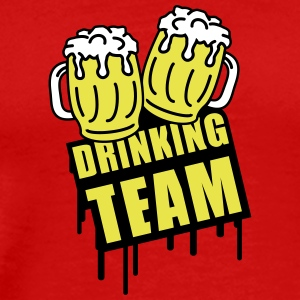 Beer Drinking Team T-Shirts - Men's Premium T-Shirt