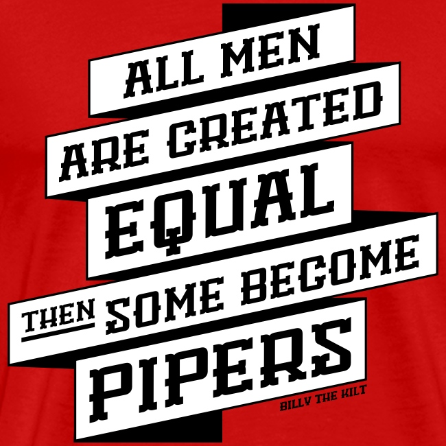 All Men Are Created Equal - Guyz