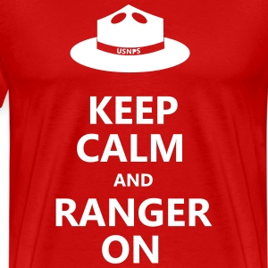 Keep Calm and Ranger On - Men's Premium T-Shirt