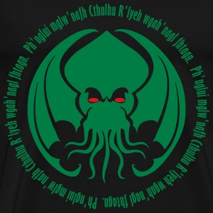 Cthulhu Sleeps - Men's Premium T-Shirt