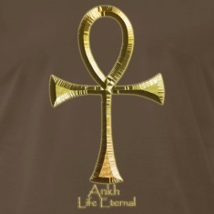 Ancient Egyptian ANKH Golden