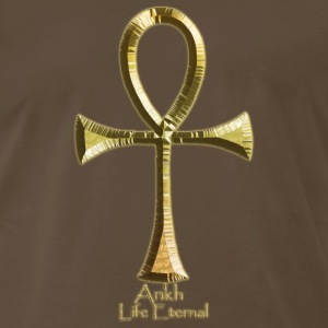 Ancient Egyptian ANKH Golden - Men's Premium T-Shirt