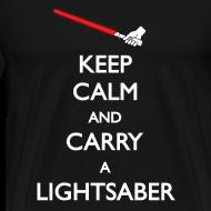 Design ~ Keep Calm Red Lightsaber 1