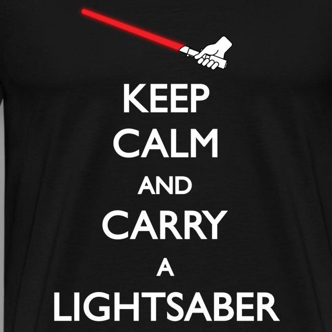 Keep Calm Red Lightsaber 1