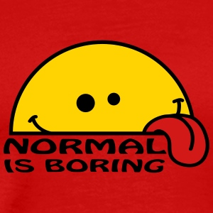 Normal Is Boring T-Shirts - Men's Premium T-Shirt