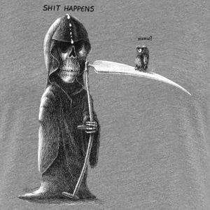 shit happens - Women's Premium T-Shirt