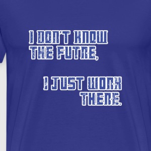 Just Work There - Doctor Who | Robot Plunger T-Shi - Men's Premium T-Shirt