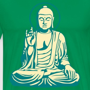 Young Buddha No.1_2c T-Shirts - Men's Premium T-Shirt