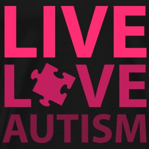 Live Love Autism - Men's Premium T-Shirt
