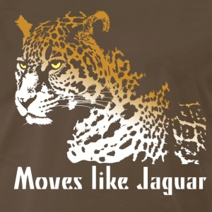 Moves like Jaguar T-Shirts - Men's Premium T-Shirt