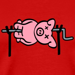 Pig Barbecue T-Shirts - Men's Premium T-Shirt