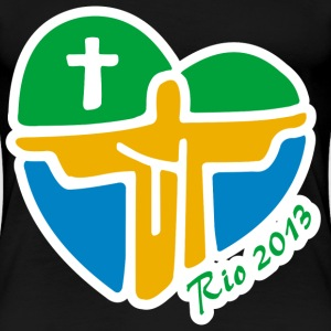 World Youth Day 2013 - Women's Premium T-Shirt