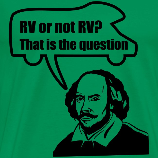 RV or not RV t-shirt
