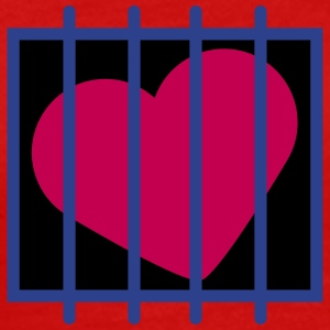 Heart In Jail T-Shirts - Men's Premium T-Shirt