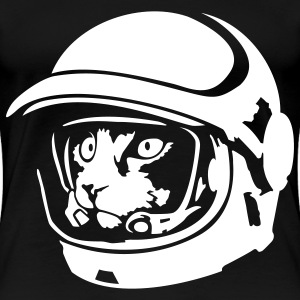 Space cat astronaut - Women's Premium T-Shirt