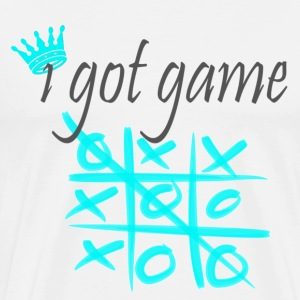 I Got Game tic tac toe - Men's Premium T-Shirt