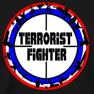 Terrorist Fighter - Men's Premium T-Shirt