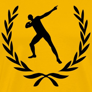 Laurel wreath Usain Bolt - Men's Premium T-Shirt
