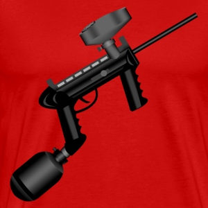 Paintball. Right Hand. - Men's Premium T-Shirt