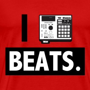 I_mpc_beats_blackwhite T-Shirts - Men's Premium T-Shirt