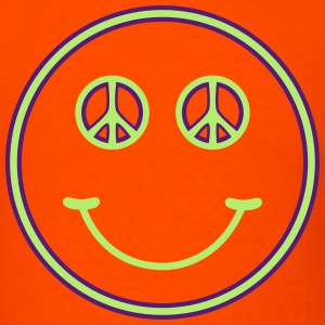 Peace smiley - Men's T-Shirt