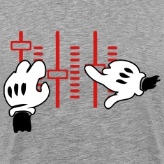 dj mickey hands T-Shirts