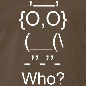 Who owl - Men's Premium T-Shirt