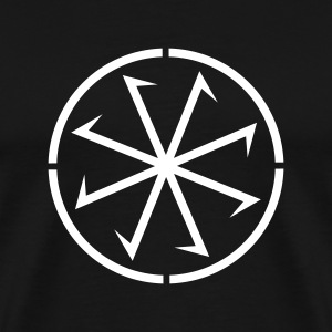 Sun Wheel Sunna No.1_1c T-Shirts - Men's Premium T-Shirt