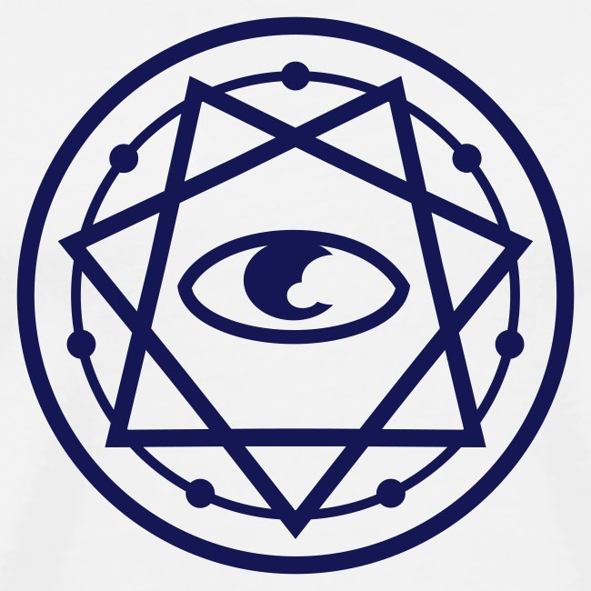 Mysticisland Shirtshop 777 Pentagram With Eye 1c Mens