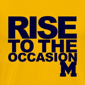 Rise Michigan.png T-Shirts - Men's Premium T-Shirt