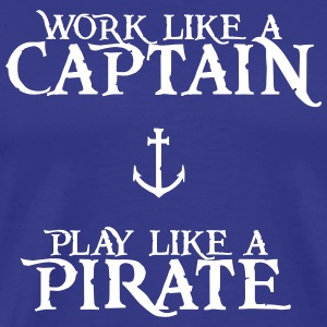 Play like a Pirate - Men's Premium T-Shirt