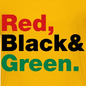Red, Black & Green. Kids' Shirts - Kids' Premium T-Shirt