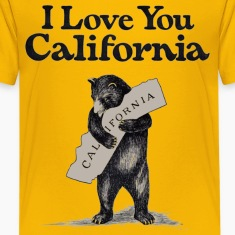 I Love You CA Shirt Diego Kids' Shirts