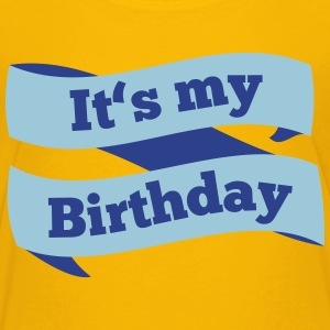 Today it's my Birthday Kids' Shirts - Kids' Premium T-Shirt