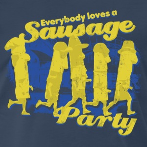 EVERYBODY LOVES A SAUSAGE PARTY T-Shirts - Men's Premium T-Shirt