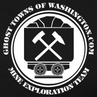 Design ~ Men's Big and Tall GTW Mine Exploration Team  T-Shirt