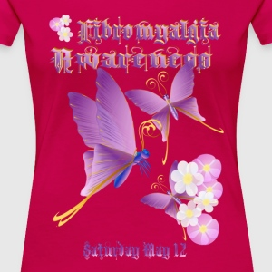 Fibromyalgia Awareness - Women's Premium T-Shirt