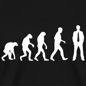 barney stinson evolution T-Shirts - Men's Premium T-Shirt
