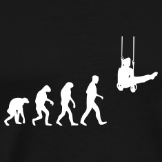gymnast evolution T-Shirts