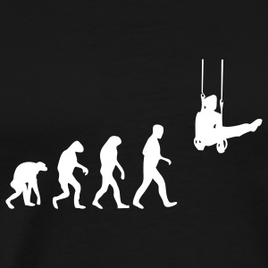 gymnast evolution T-Shirts - Men's Premium T-Shirt