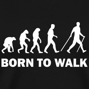 born to walk T-Shirts - Men's Premium T-Shirt