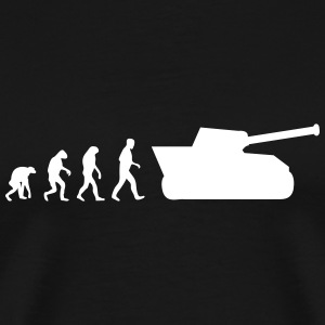 tank evolution T-Shirts - Men's Premium T-Shirt